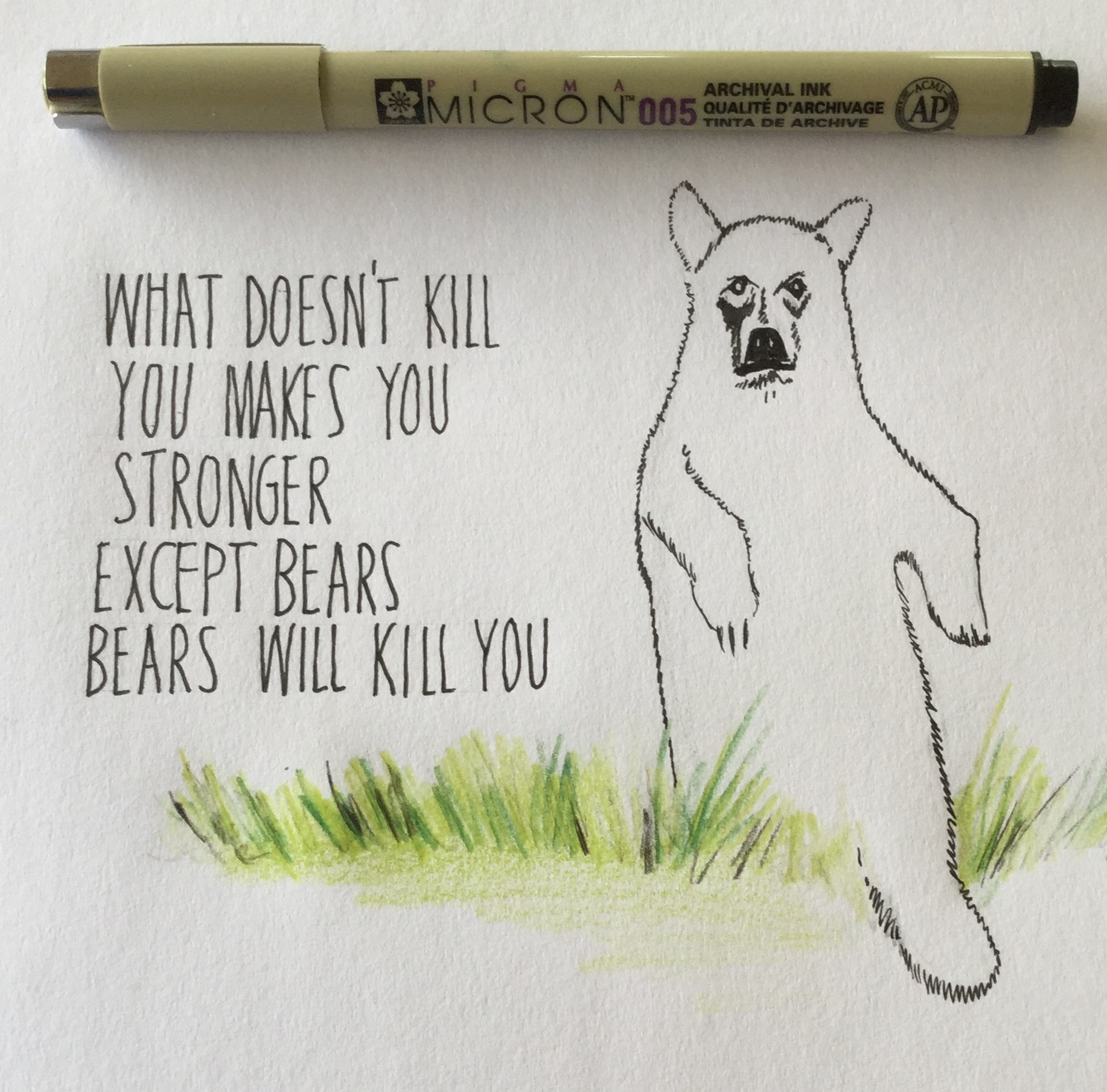 the notorious mum - what doesn't kill you makes you stronger