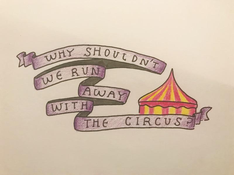 the notorious mum run away with the circus