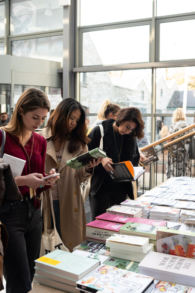 Charlie Byrne's pop-up bookshop, Food on the Edge symposium