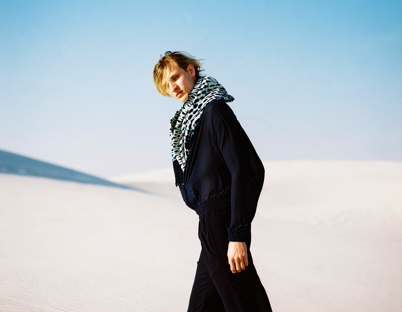 Gavin wears full look, Lukhanyo Mdingi; Ethiopian fabric, stylists own