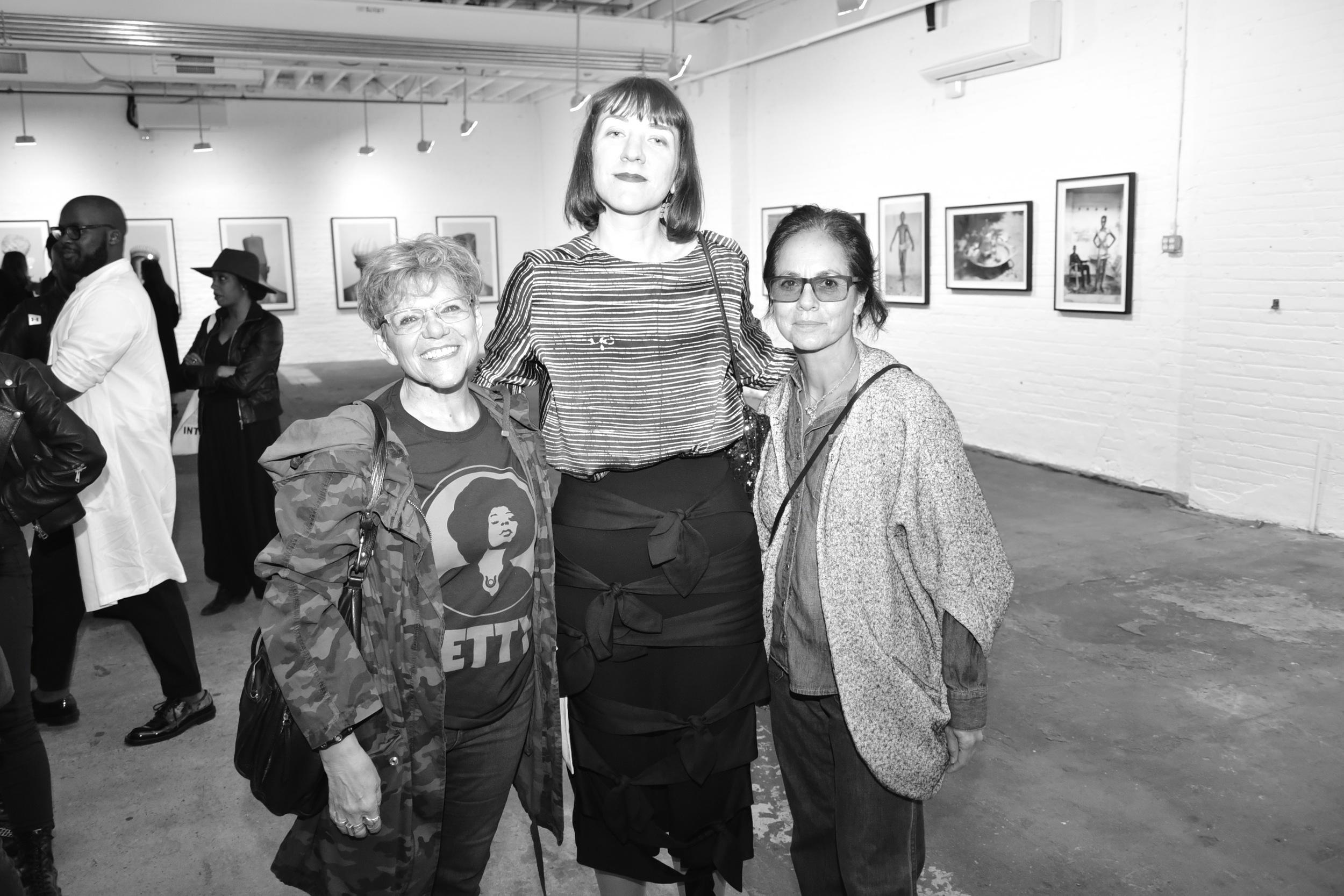 1 of 4 Leigh Blake, Helen Jennings, Maria Cornejo