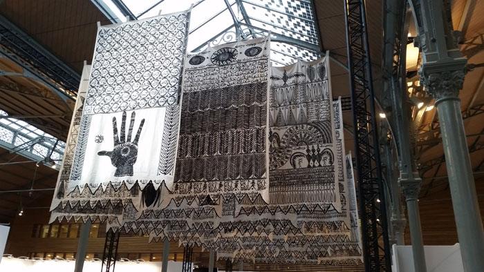Rachid Koraïchi, Les Maîtres Invisibles, October Gallery