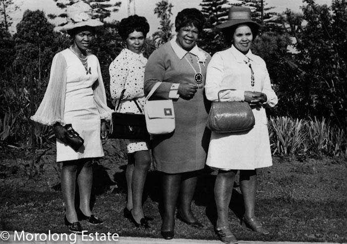 """Daniel """"Kgomo"""" Morolong, Women, Everard Read Circa/Morolong Estate"""