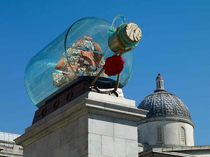 2 of 2 - Nelson's Ship in a Bottle, courtesy Stephen Friedman Gallery