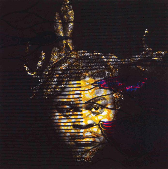 2 of 3 - Self Portrait (After Warhol), courtesy Stephen Friedman Gallery