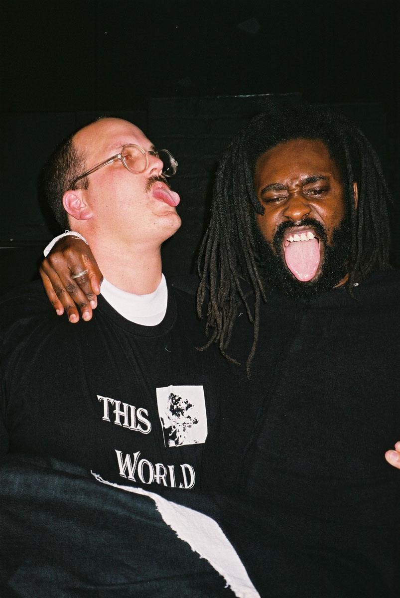 Liam Hodges and Olubiyi Thomas