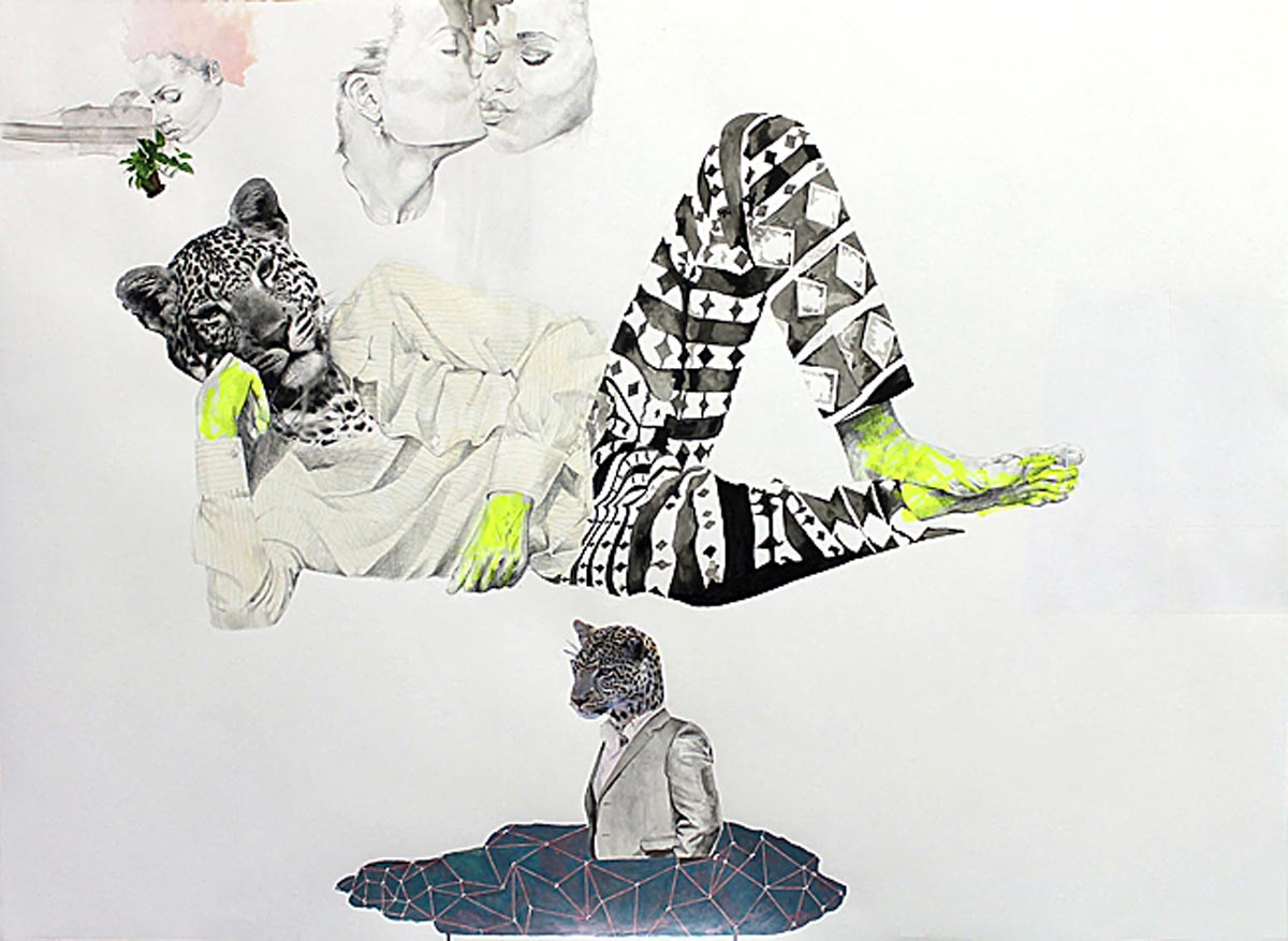 3 of 4 ruby onyinyechi amanze, Either Way, You'll Be I A Pool Of Something, 2015