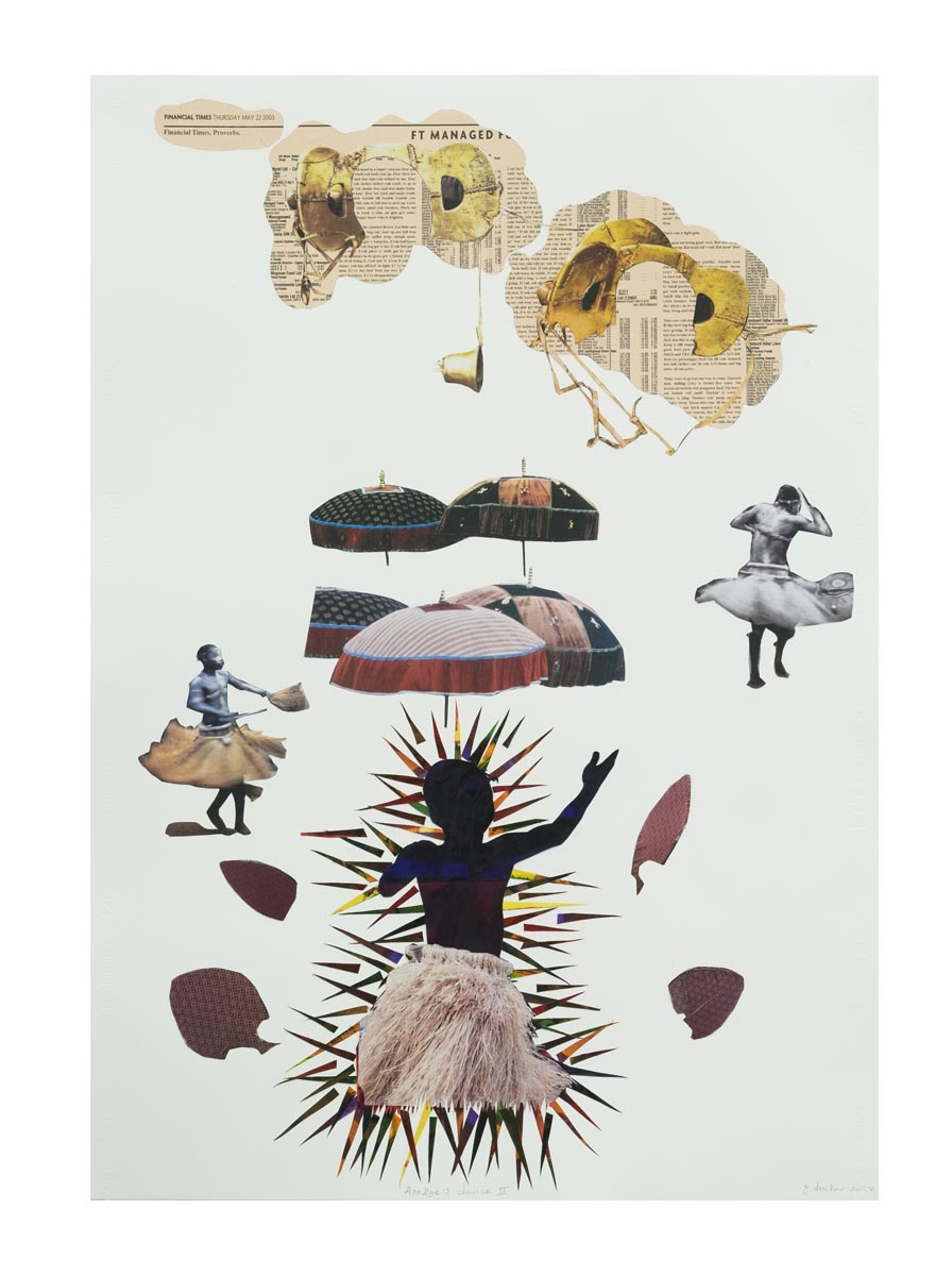 2 of 6 Godfried Donkor, Anokye's Dance II, 2017, courtesy of Gallery 1957
