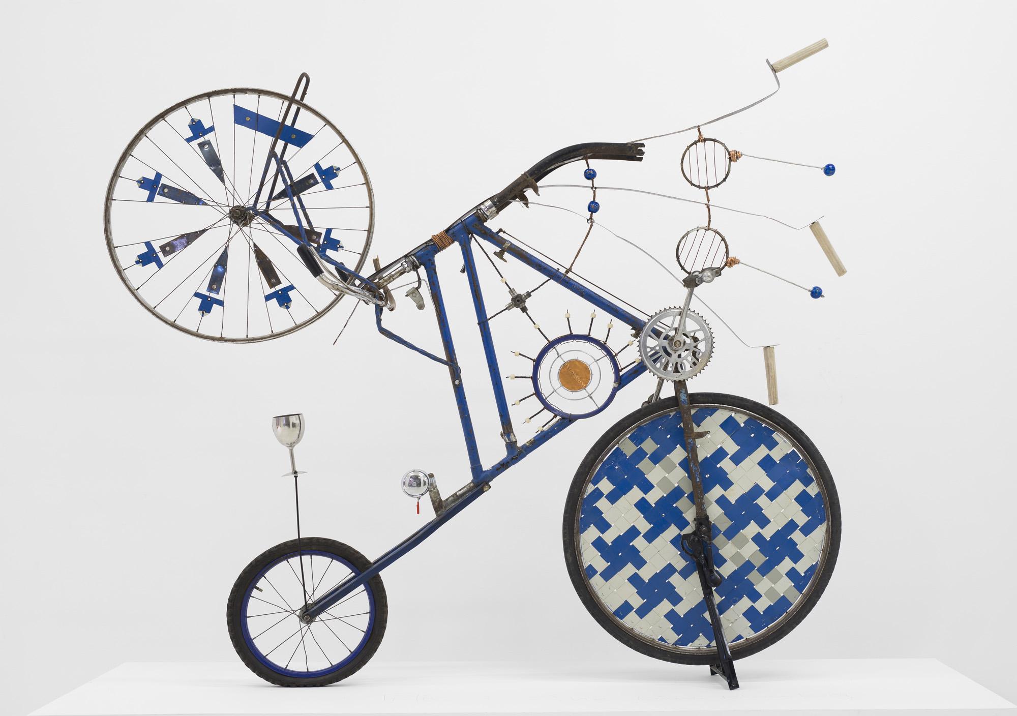 Cyrus Kabiru, The Blue Mamba, 2017