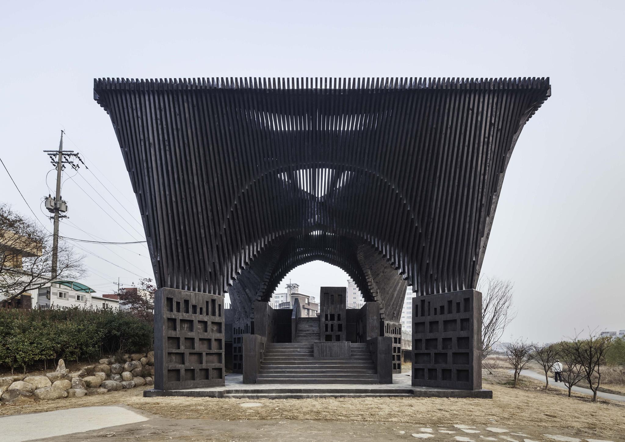 1 of 3 - Gwangju River Reading Room
