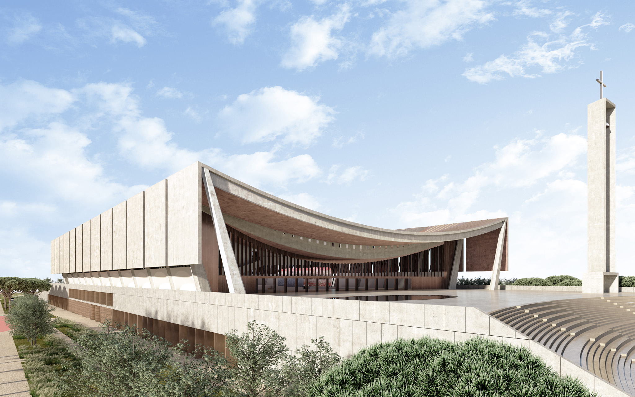1 of 2 - National Cathedral of Ghana