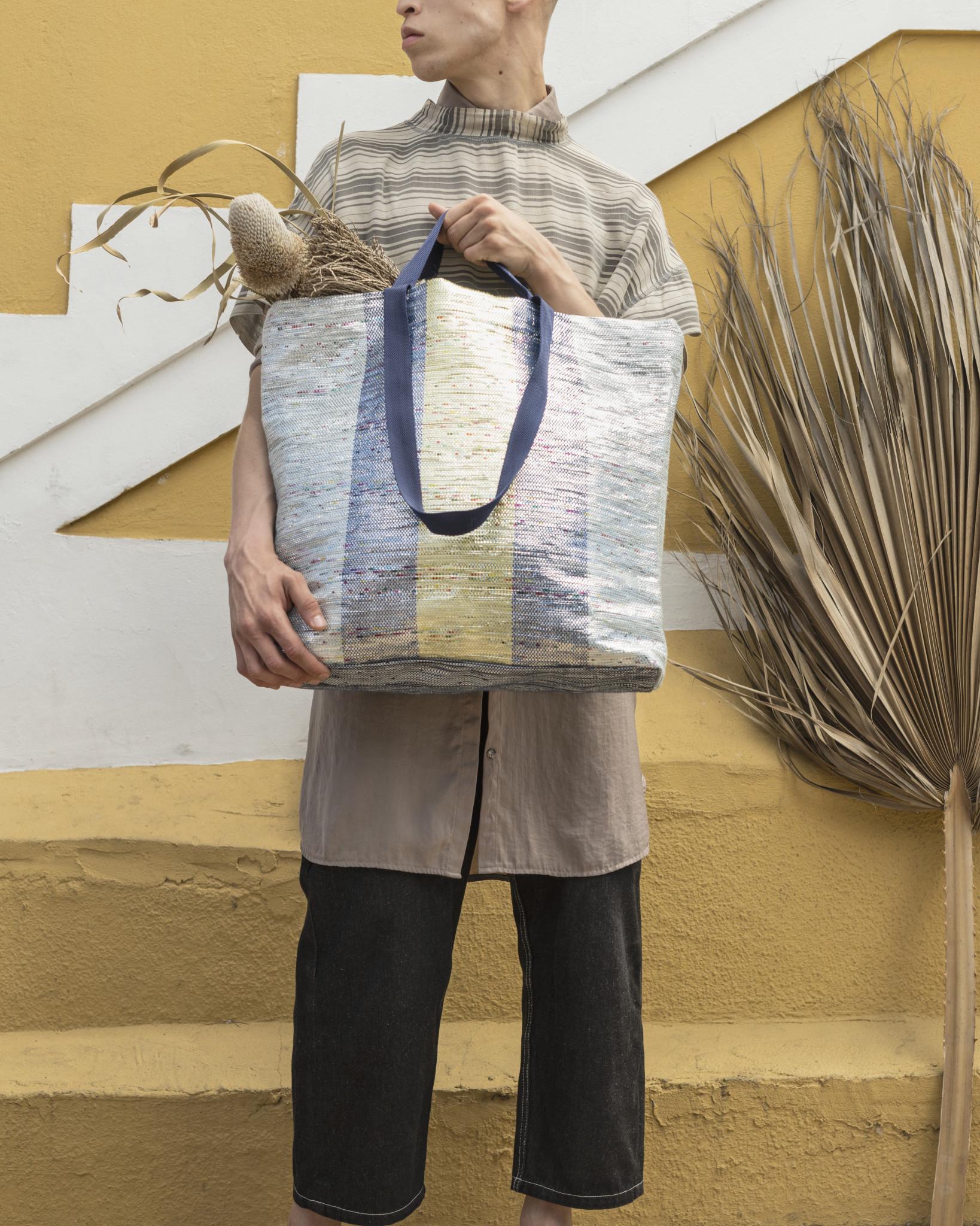 ÖVERALLT bag polyester, polypropylene polyethylene and aluminium Designer H Riad and M Hazem and H Dalrot
