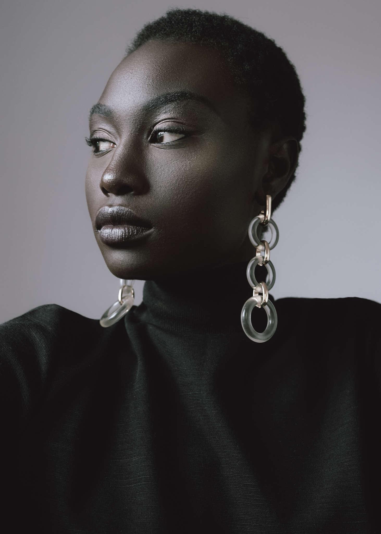 Zara dress and earrings