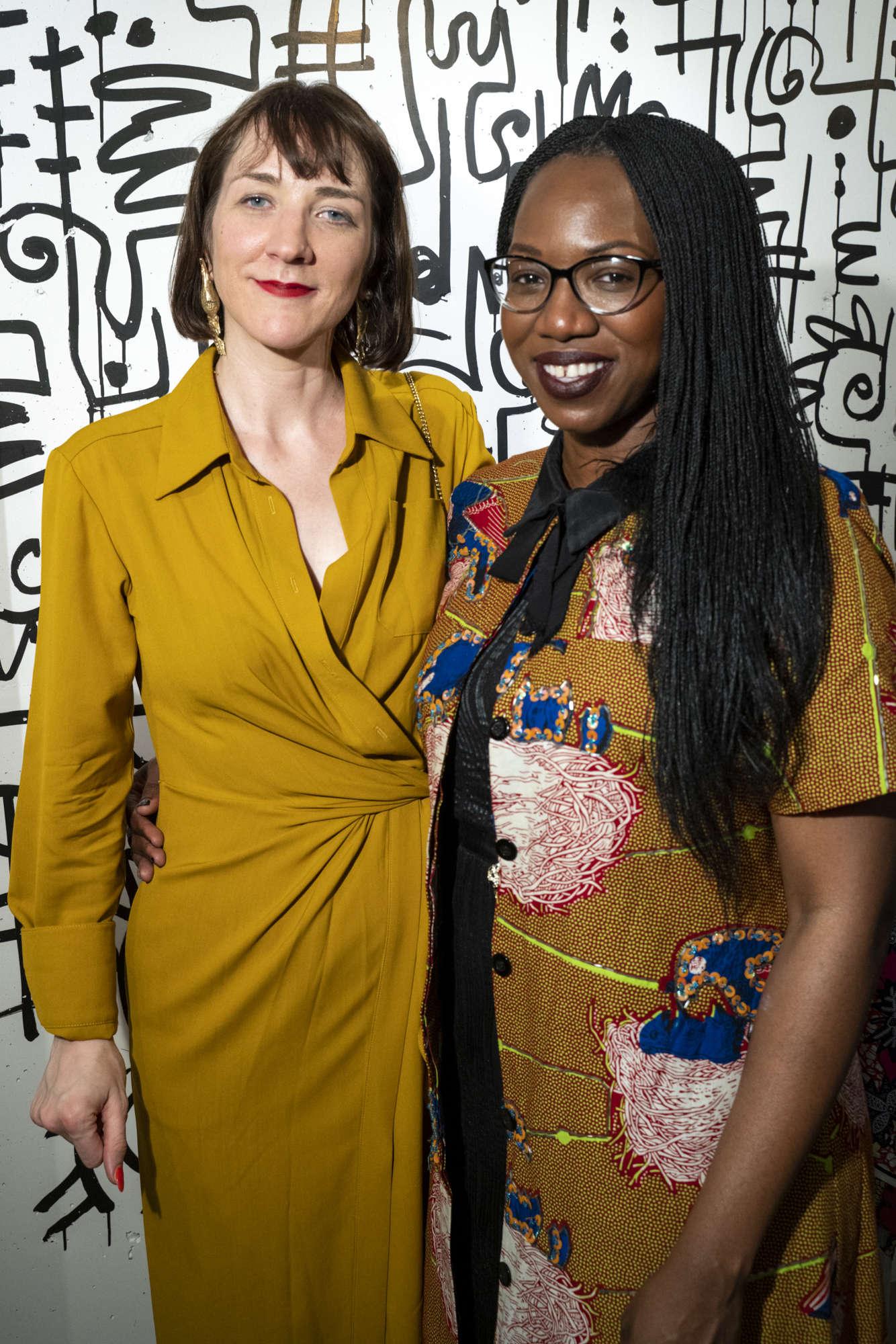 1 of 6 - Helen Jennings and Enyinne Owunwanne
