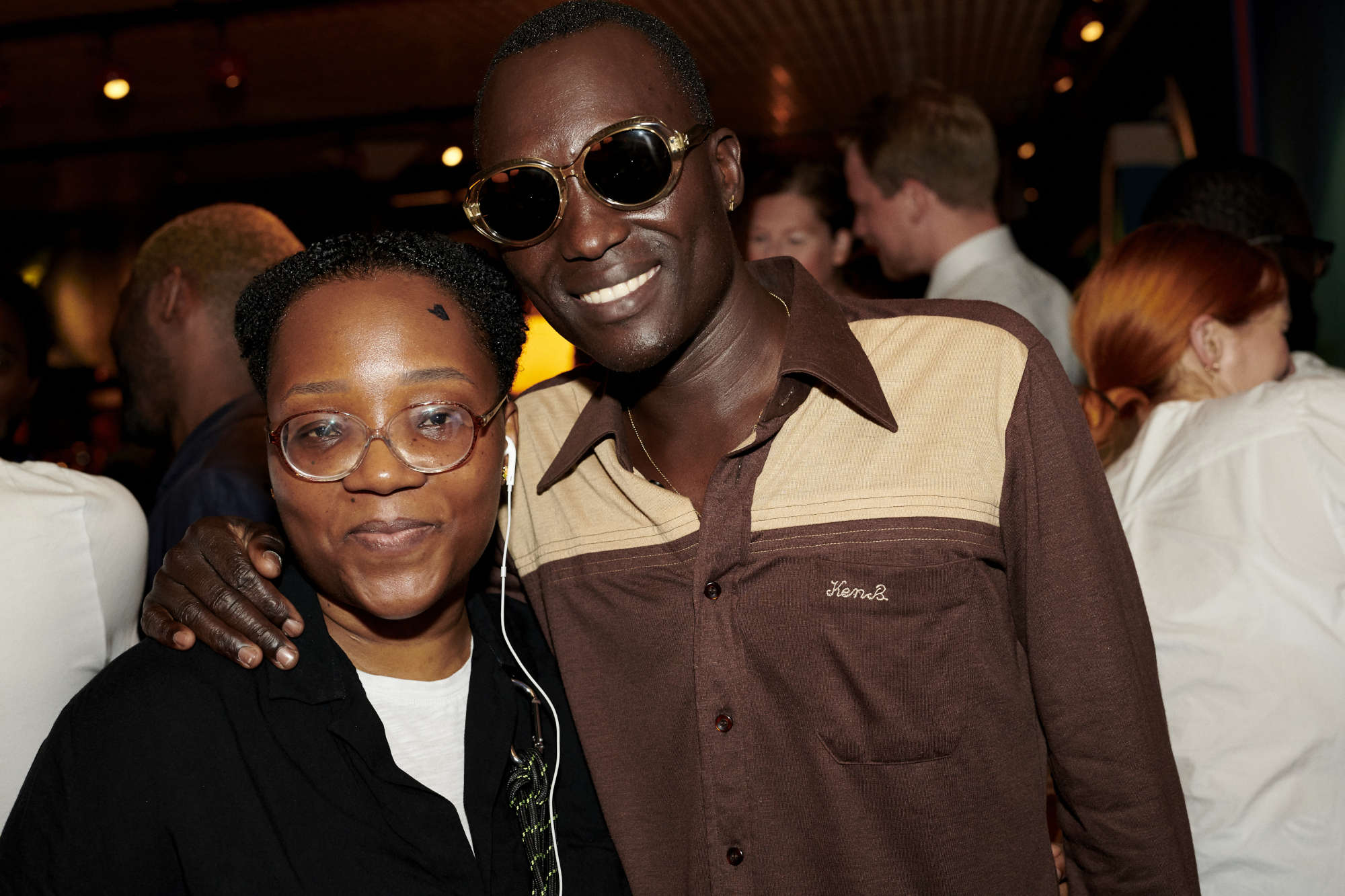 Christina Ebeneza and Dennis Okwera