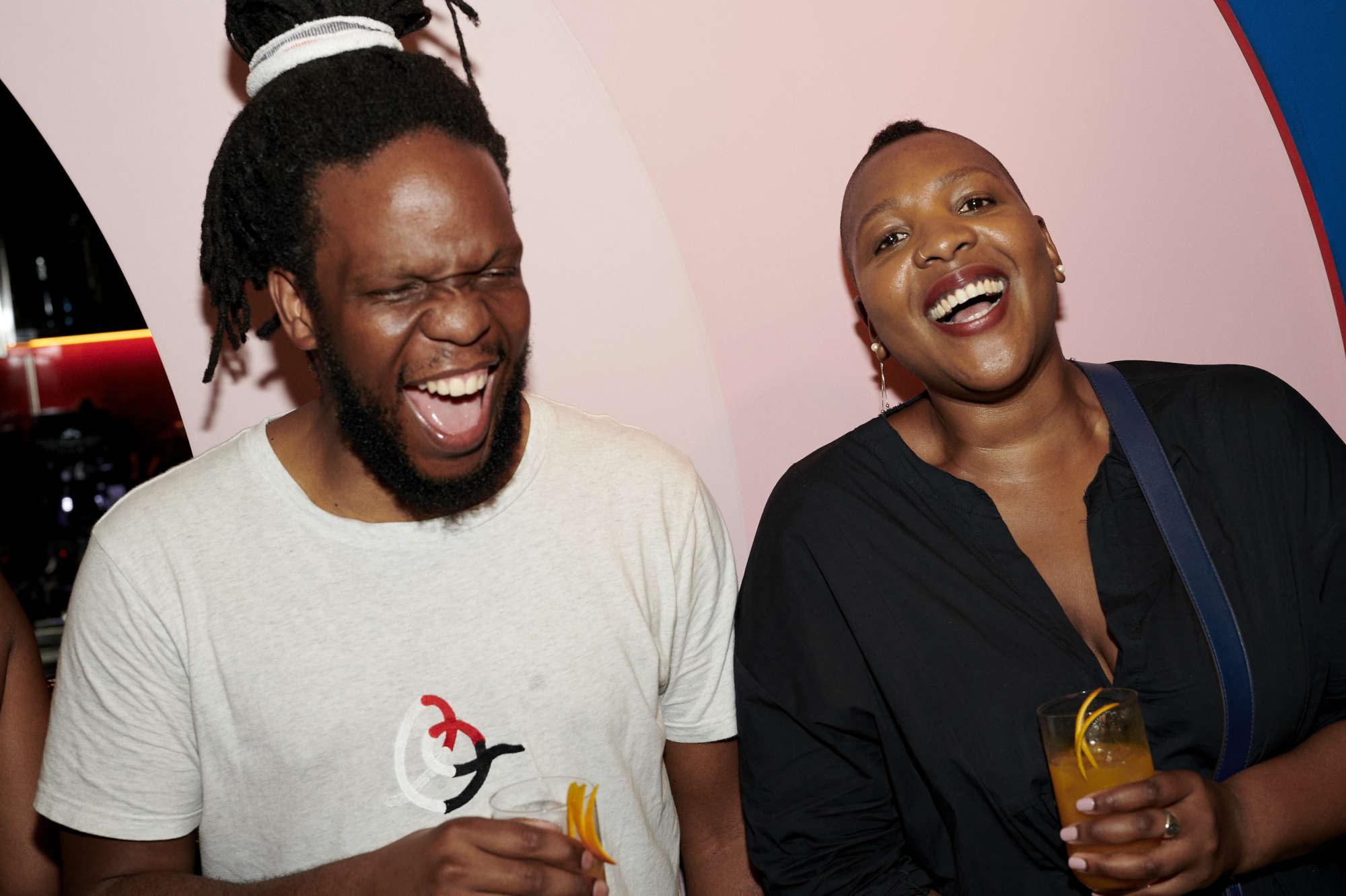 Thabo and Anyango Mpinga