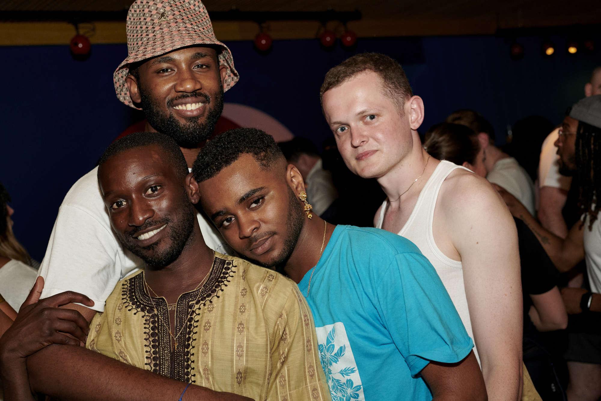 KK Obi, Emmanuel Balogun and friends