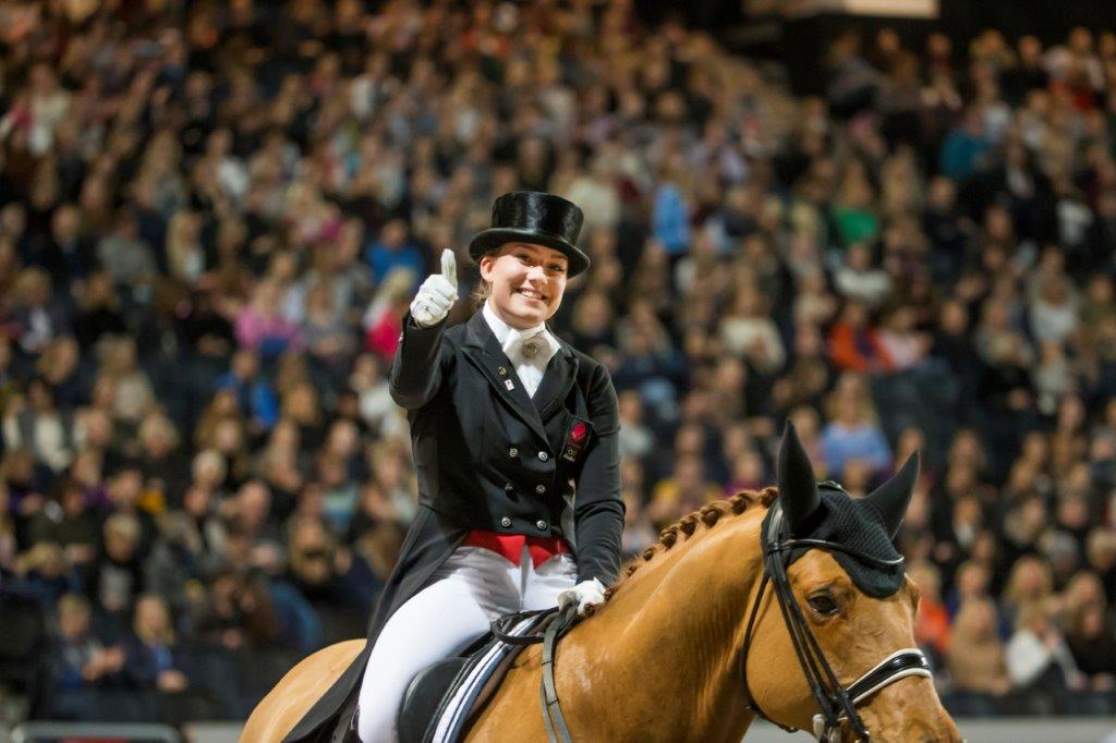 Cathrine Dufour and Atterupgaards Cassidy - photo credit: Roland Thunholm