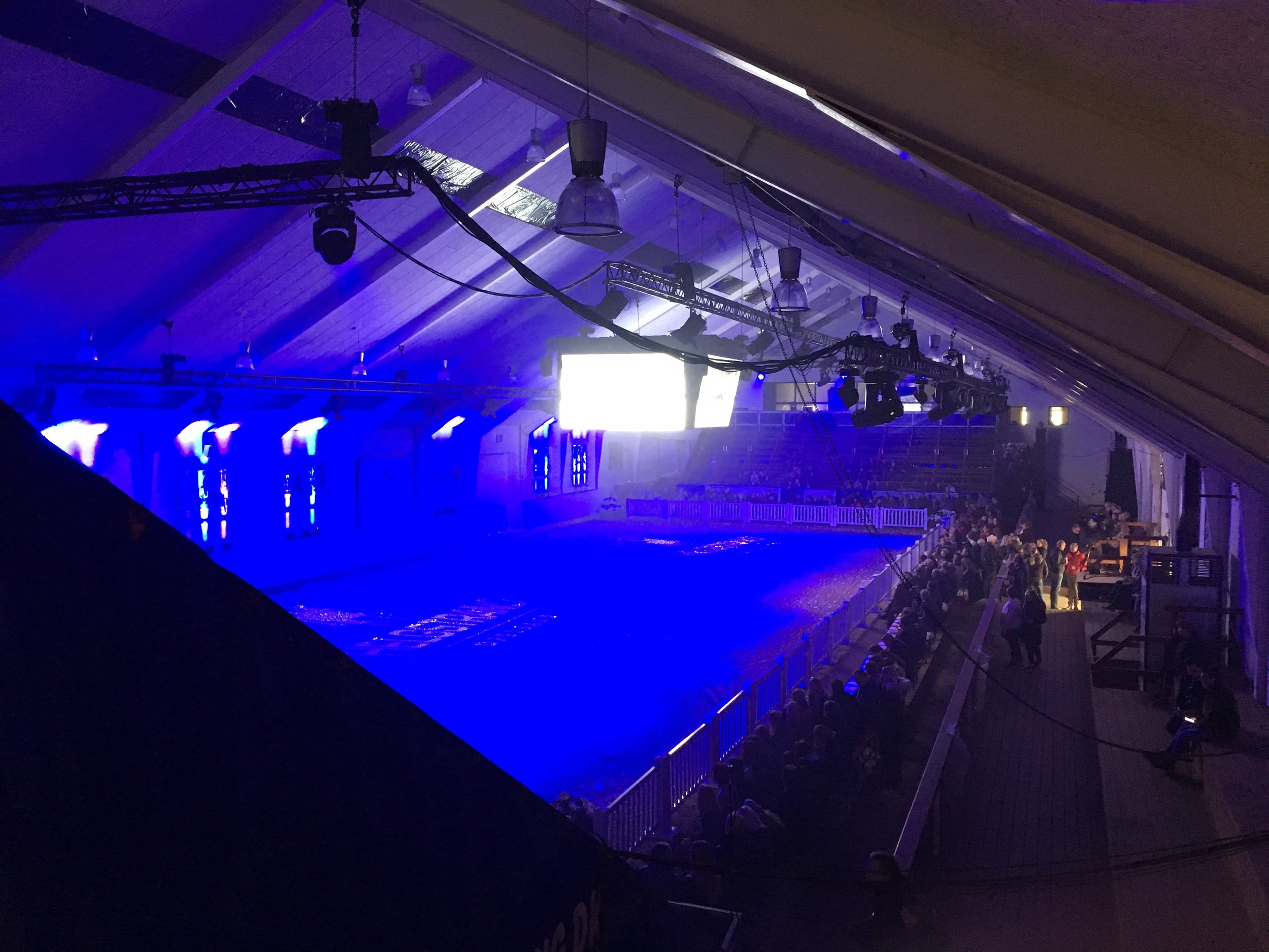 The stage was set for an extraordinary experience Saturday afternoon at Helgstrand Dressage