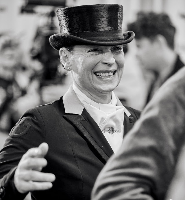 The undisputed Queen of international Dressage, Isabell Werth, headlines the stellar German side who go into next week's Longines FEI European Dressage Championships as defending champions. (FEI/Liz Gregg)