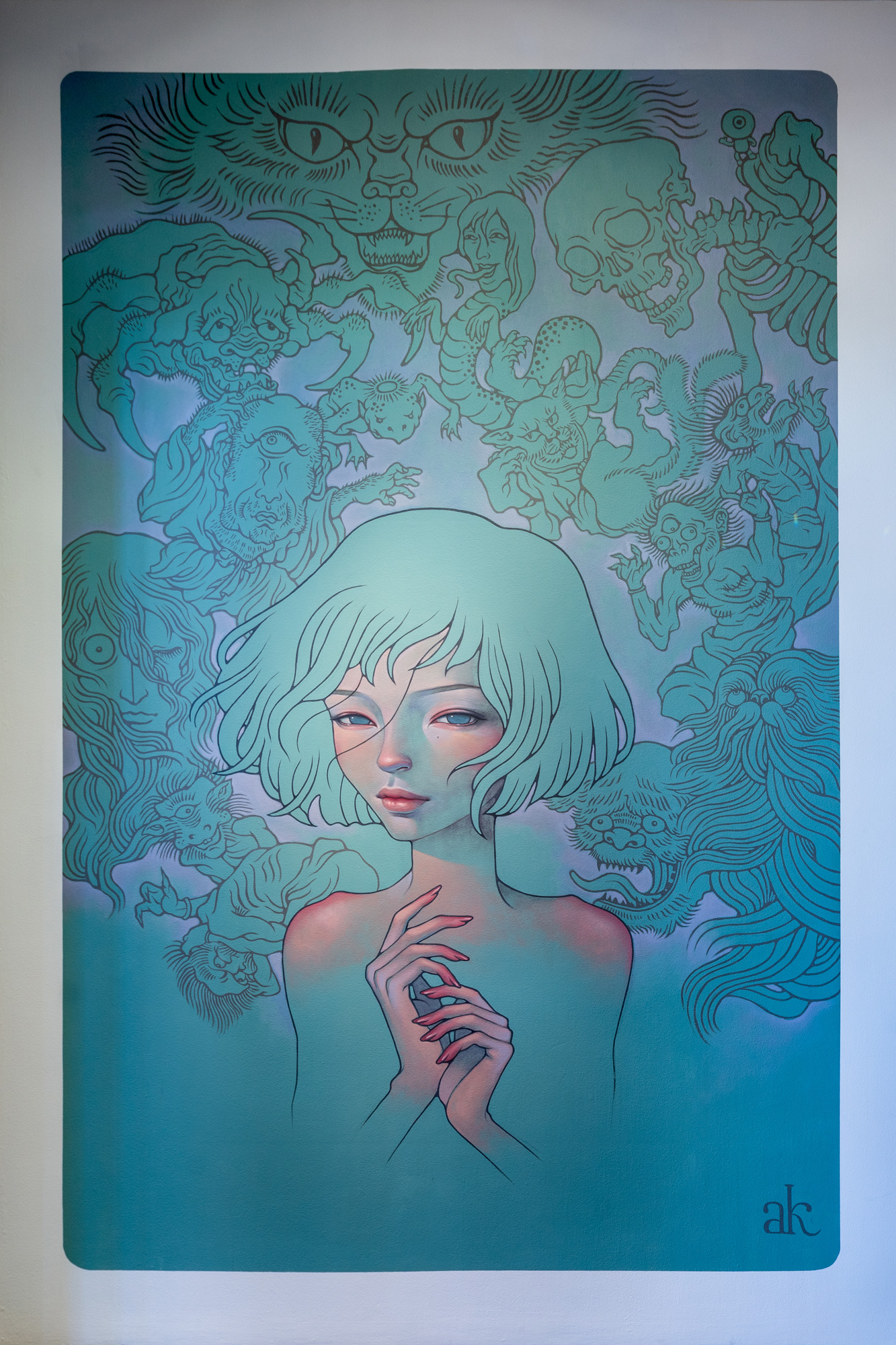 "AUDREY KAWASAKI ""MY LITTLE ALLIES"""
