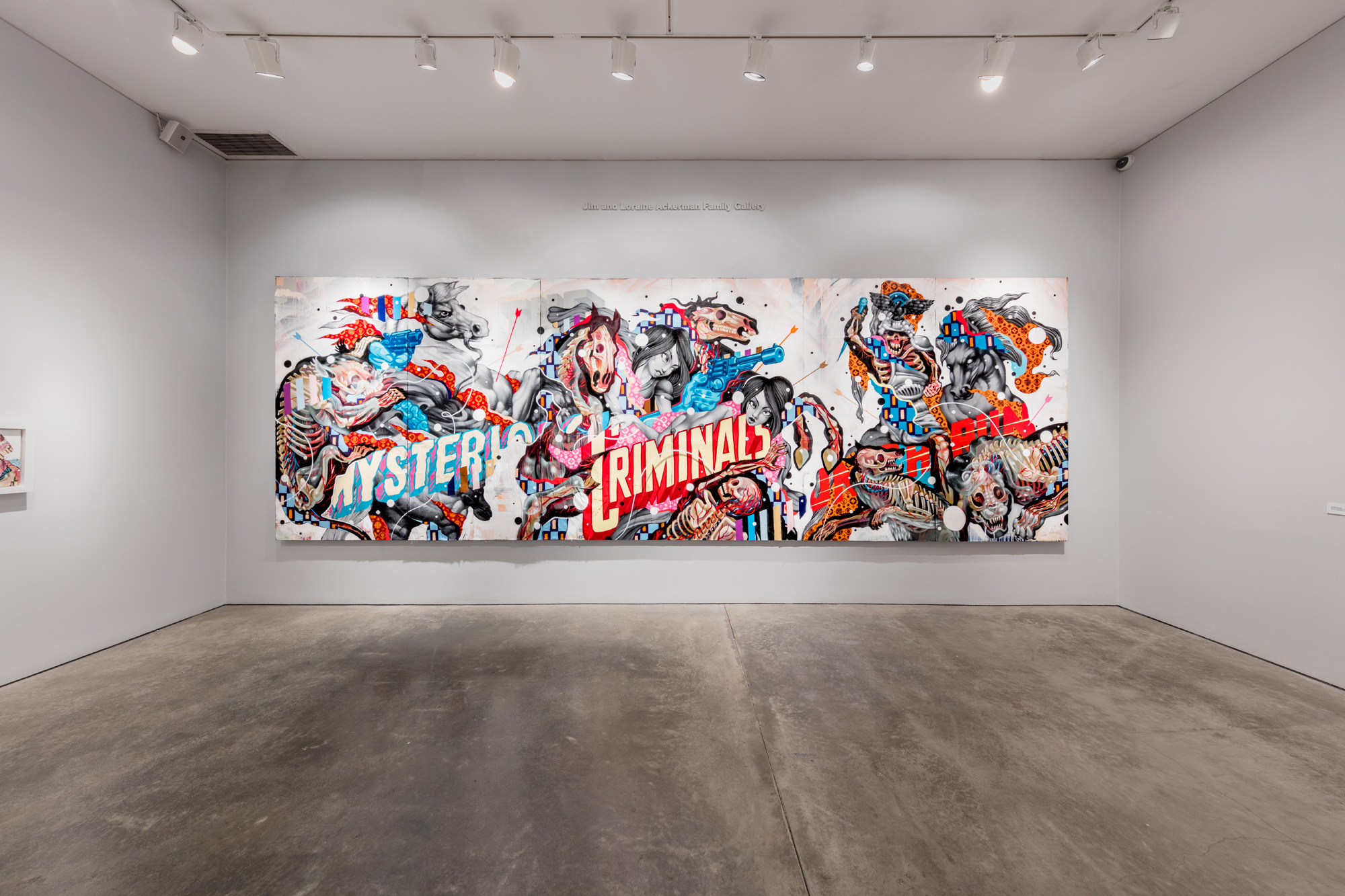 "NYCHOS & TRISTAN EATON ""THE MYSTERIOUS CRIMINALS ON THE RUN"""
