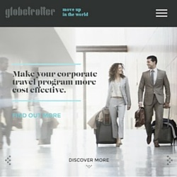 Click to read our website copywriting for Globetrotter.