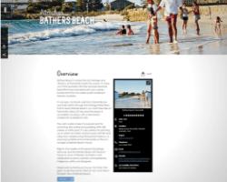 Click image to view description of Bather's Beach