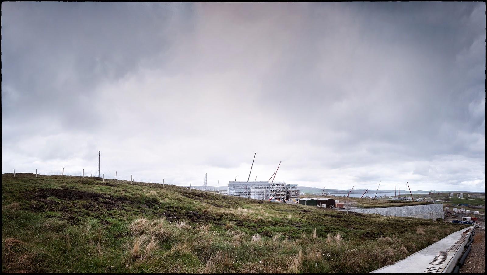 Shetland gas plant Sullom Voe BP Total Petrofac contractor laggan tormore