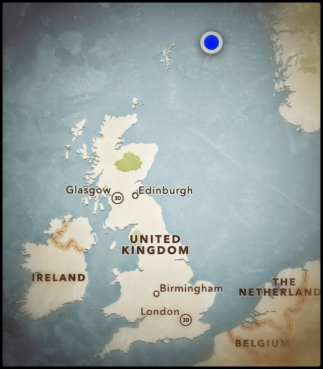 Shetland CNRi CNR north sea oil gas platform industry  location  work