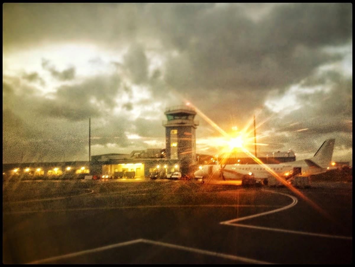 Shetland Scatsta airport Voe lower runway plane airoplane oil gas industry workers industrial eastern airways commute passenger flight