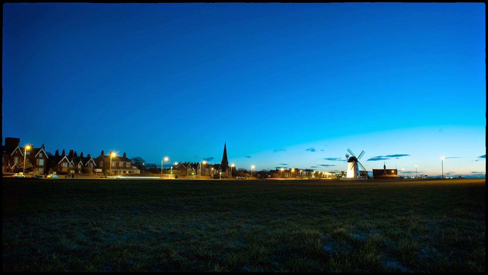 Lytham green windmill timelapse St Annes Lancashire sunrise