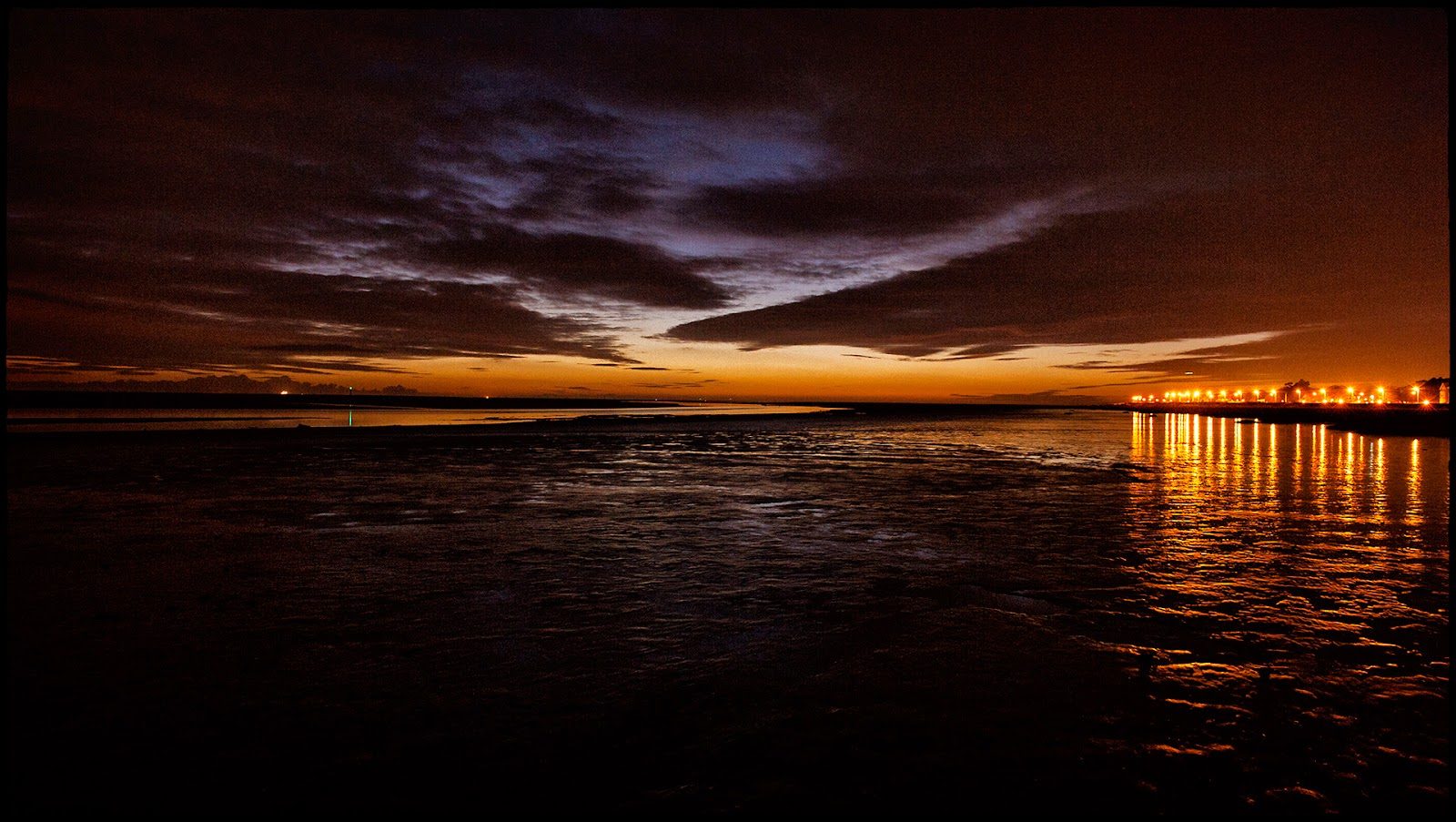 green windmill timelapse Lytham St Annes Lancashire pier wood wooden setting sun sea reflection