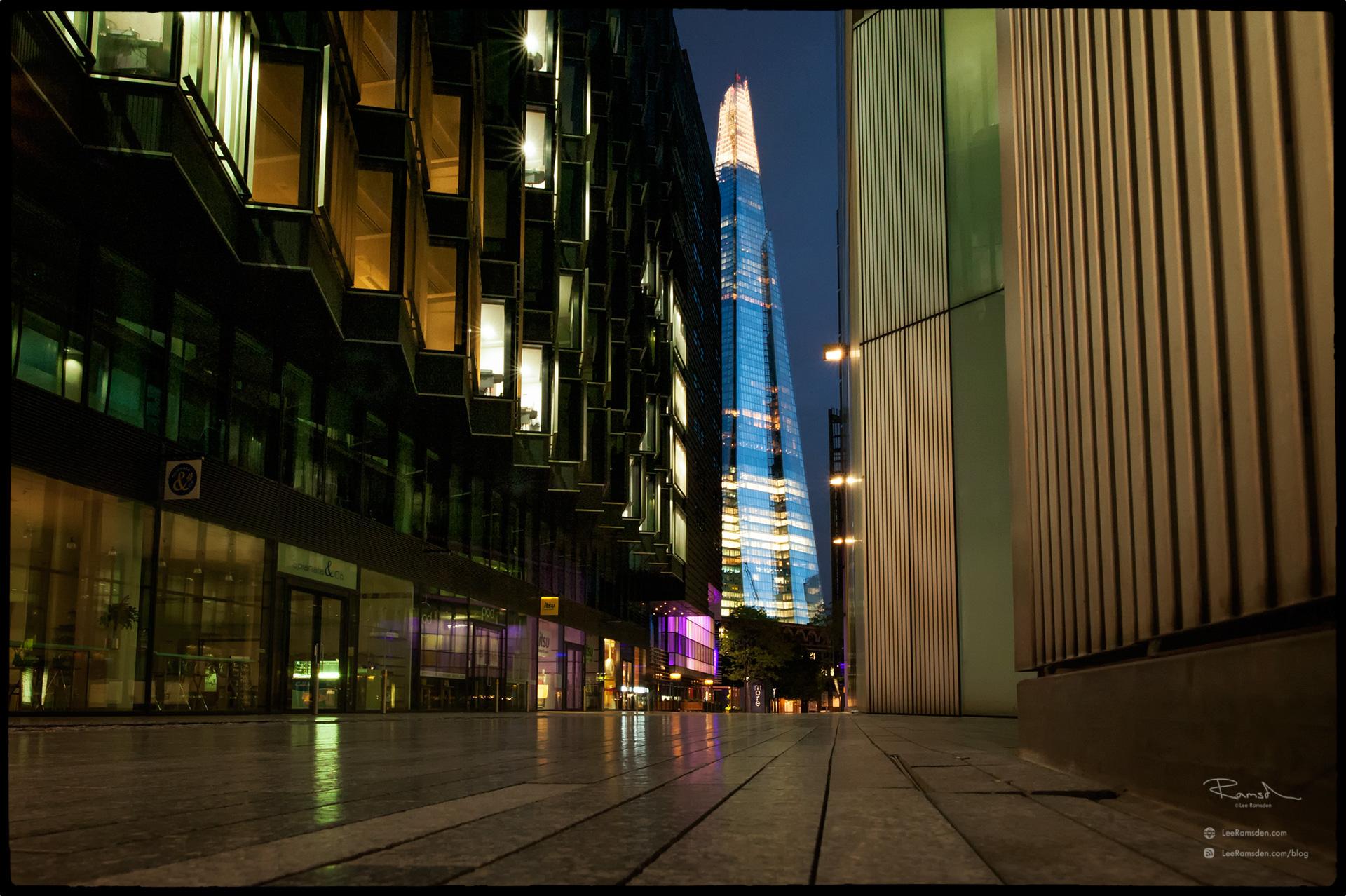 "<img src=""Shard colour.jpg"" alt=""the shard view at the shard viewing gallery hotel office building sunset sunrise dusk dawn london greater lee ramsden"">"