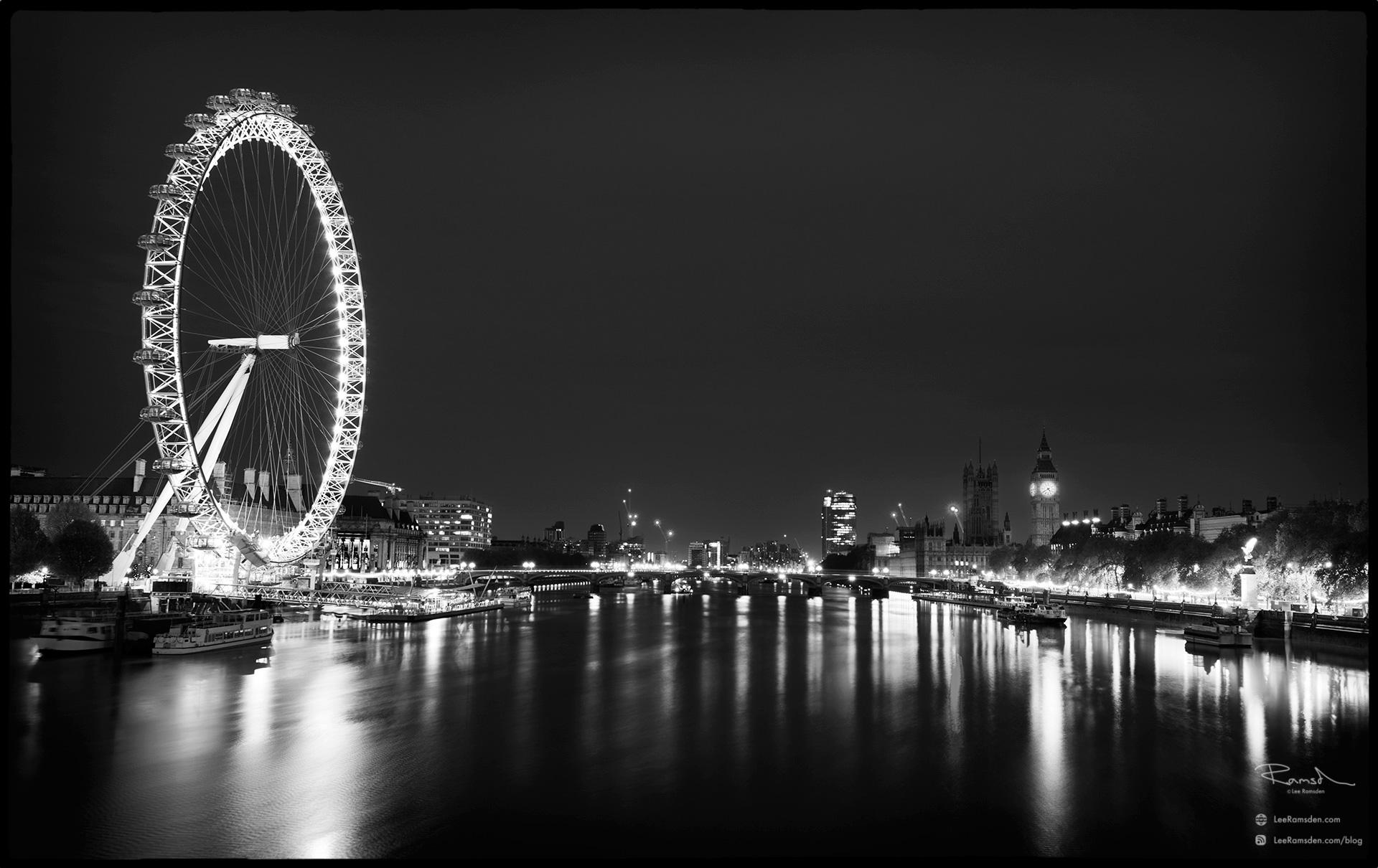 "<img src=""Big Ben"" alt=""London eye river thames london bridge long exposure lee filters lee ramsden monochrome black and white fine art"">"