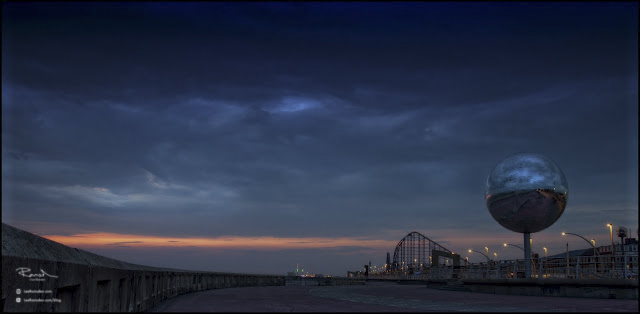 "<img src=""Blackpool sunset.jpg"" alt="" Blackpool sea front mirror ball design big one rollarcoaster lee ramsden"">"