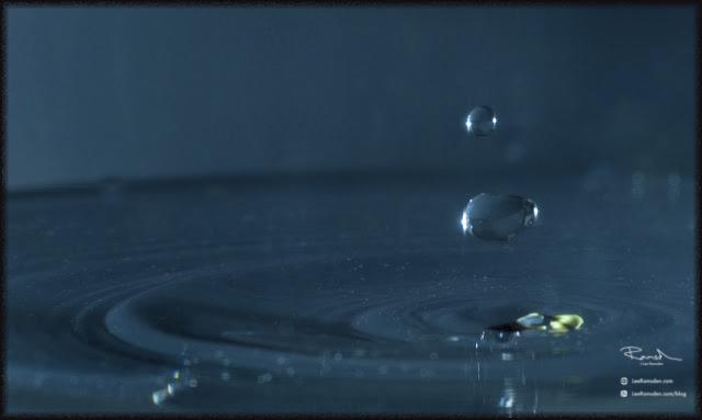 high speed capture water splash crown planets studio photography