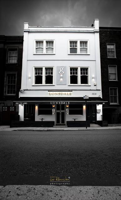 Lonsdale London Bar design by 4orm ltd design building front