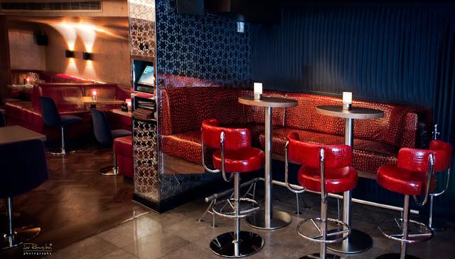 Lonsdale London Bar design by 4orm ltd design Bar Stools