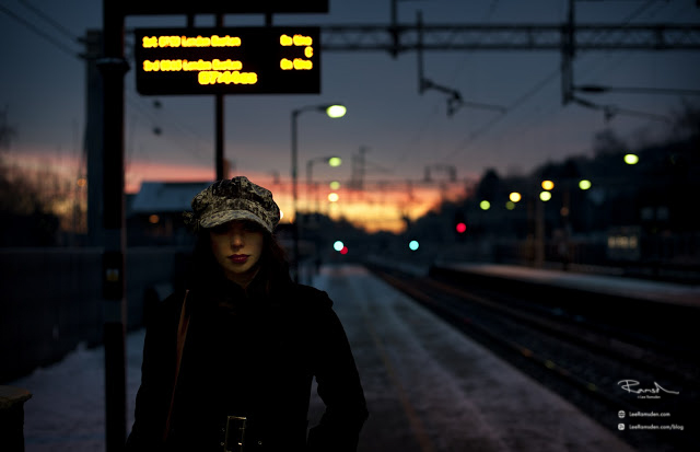Kelly Moss Ramsden early morning train