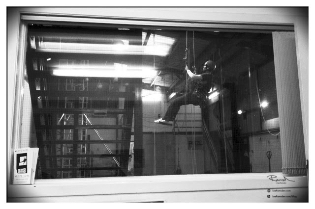 IRATA industrial rope access training course
