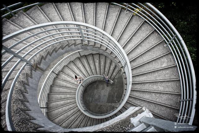 Hong Kong Spiral stair case