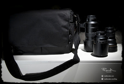 Think Tank Retrospective 3.0 camera bag best in the world carrying 3 large nikon lenses