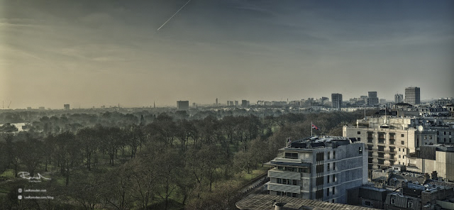 HDR panoramic image of London
