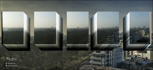 HDR panoramic image of London explained how to
