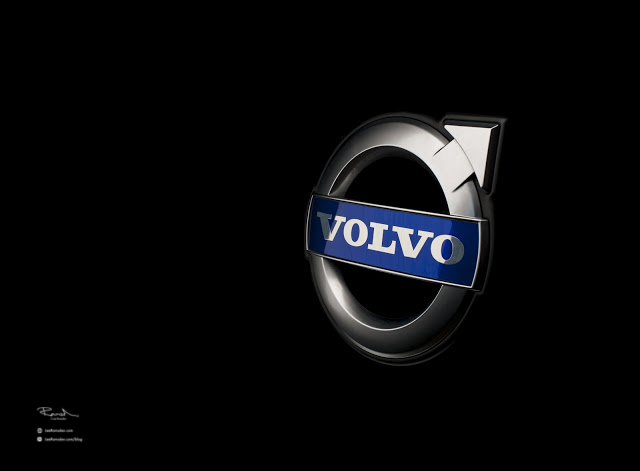 Volvo V50 V60 V70 badge logo professional images car photography