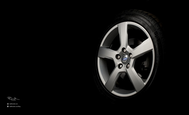 Volvo V50 V60 V70 alloy wheel