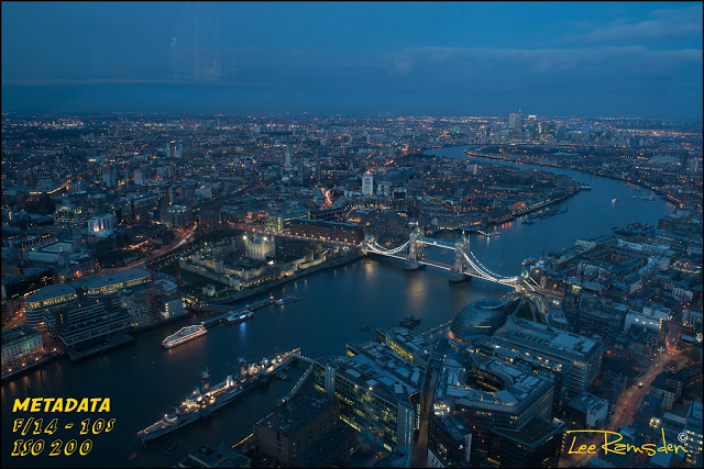 London Shard The View HDR image Photography tutorial Nikon D800 award winning