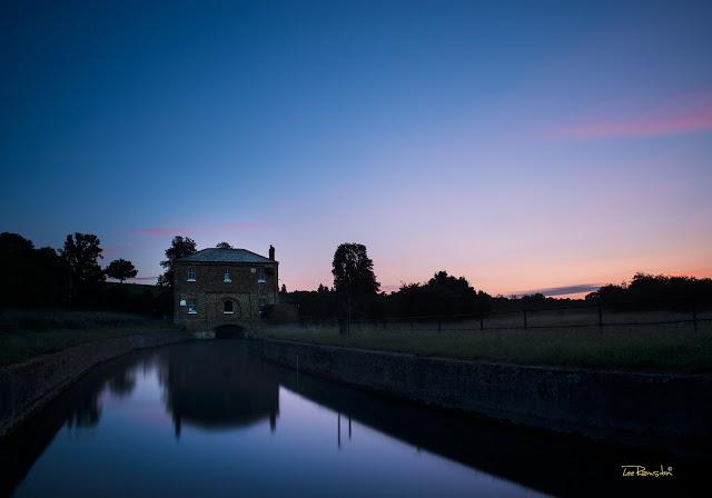 New gauge intake house, River Lea, Hertfordshire, Bedfordshire, Hertford