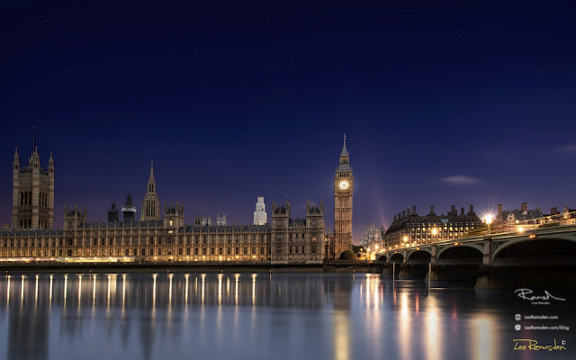 Big Ben London Westminster Dawn Sunrise Houses of Parliament